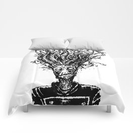 I AM GROOT an INKY DOODLE by The Rural Drawer Comforters