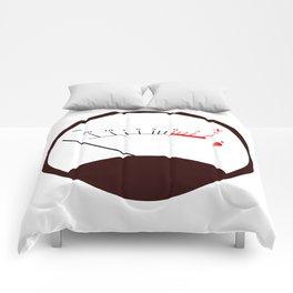 Round VU Meter No Signal Comforters