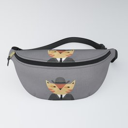 Ginger Cat in a Bowler Hat Fanny Pack