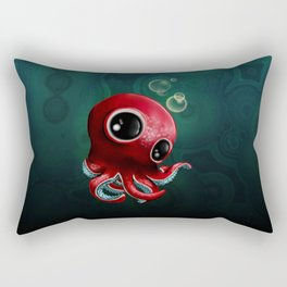 Mr Octopus Rectangular Pillow