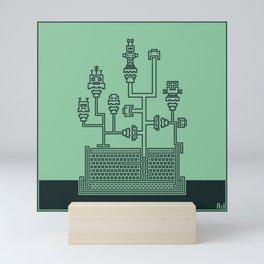Planticular Robotic Mini Art Print