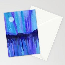 Moon Landscape Stationery Cards