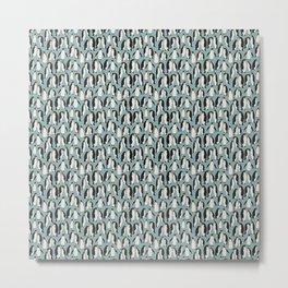 Penguin Colony Metal Print