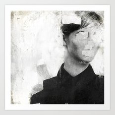 Faceless | number 01 Art Print