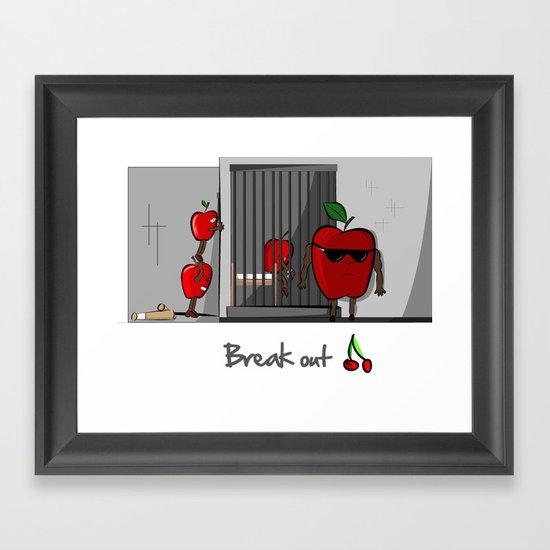 Break Out Framed Art Print