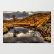 The Pool of Autumn Canvas Print