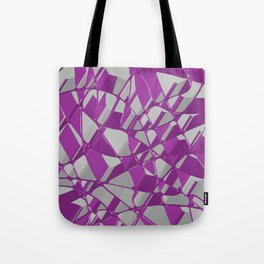 3D Abstract Futuristic Background Tote Bag