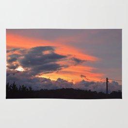 Beautiful Sunset Sky Rug