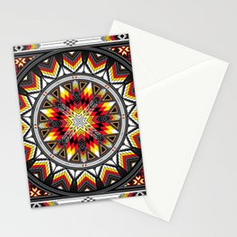 Sacred Places Red Stationery Cards
