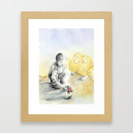 The little prince. Framed Art Print