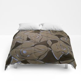 Cave Of Faces Comforters