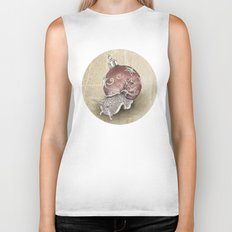 In which a snail is most festive this christmas  Biker Tank