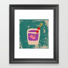 Alcohol_01 Framed Art Print