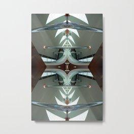 DAT 0212 - digital symmetry Metal Print