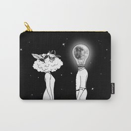 Day Dreamer Meets Night Thinker Carry-All Pouch
