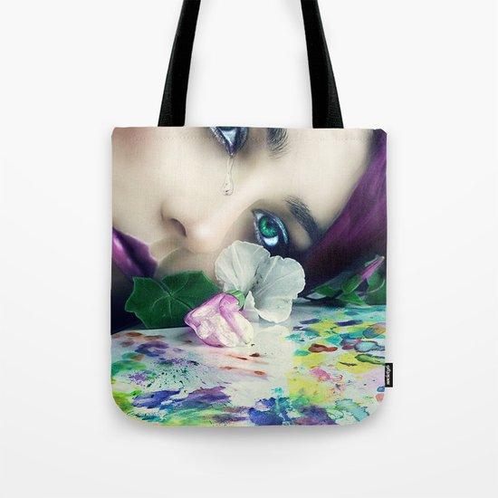 Silent Tears Tote Bag