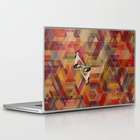 pin up Laptop & iPad Skins featuring Pin Up by Spyck