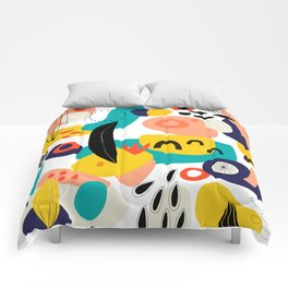 Abstract  Shapes Pattern Comforters