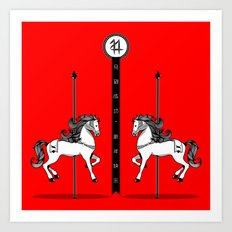Chinese New Year of the Horse Art Print