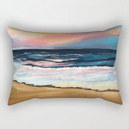 """""""OBX Sunset"""" Beach Art Rectangular Pillow"""