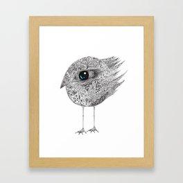 bird two Framed Art Print