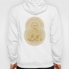 Gold buddha Hoody