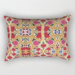 Spanish Flowers Rectangular Pillow