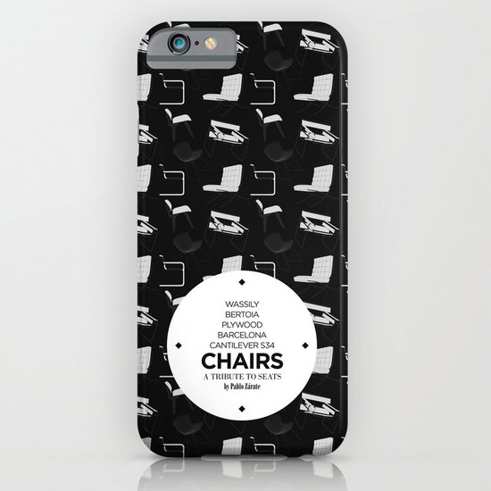 CHAIRS - A tribute to seats (special edition) iPhone & iPod Case