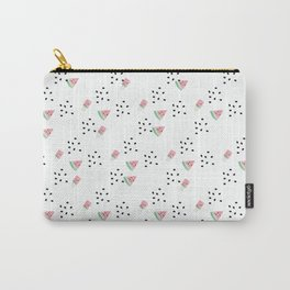Watercolor Watermelon Sweet Carry-All Pouch