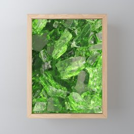 The ruins of the Emerald City Framed Mini Art Print
