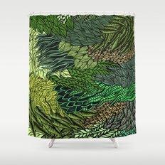 Leaf Cluster Shower Curtain