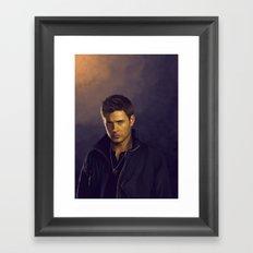 Dean Winchester - Supernatural Framed Art Print