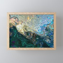 Sea Nymph Abstract Framed Mini Art Print
