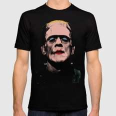 The Fabulous Frankenstein's Monster Black Mens Fitted Tee LARGE