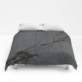 Jackson Pollock Inspired Study In Black - Glam Comforters