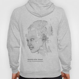 Face Extract -  Geomertic of the Universe  Hoody