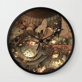 Crash at Roswell Wall Clock