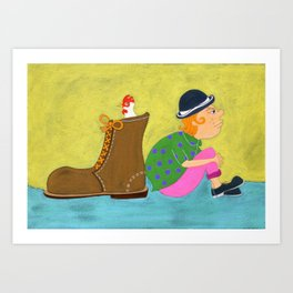 Jack & The Beanstalk Ⅲ Art Print