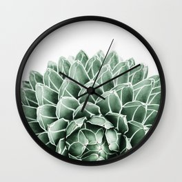 Succulent splendour Wall Clock