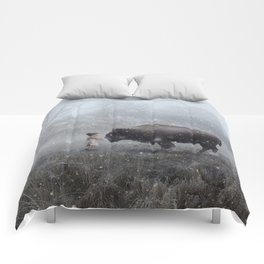 MeeTe Buffao Comforters