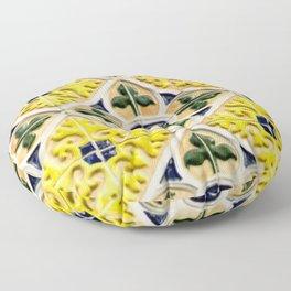 Portuguese azulejos Floor Pillow