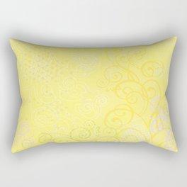 Spring Mood. Yellow. Rectangular Pillow