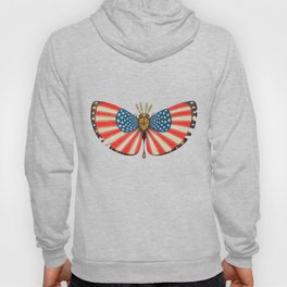 patriot moth (ORIGINAL SOLD). Hoody