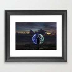 Got the Whole World Framed Art Print
