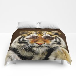 In the Eye of the Tiger Comforters