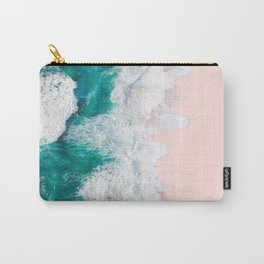 Pink Sand Beach Carry-All Pouch