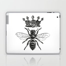 Queen Bee | Black and White Laptop & iPad Skin
