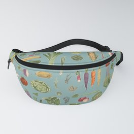 Vegetables of the UK Fanny Pack