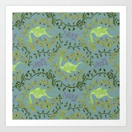 Nessie-Nightshade Art Print