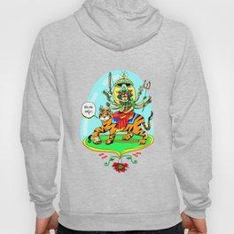 Durga Hindu Goddess Hoody